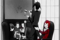 Loved this scene! Poor Sebastian! XD ~ black butler gif