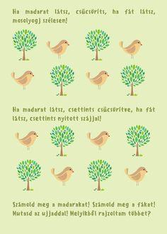 Madarak és fák napja - egy logopédus szemével – Modern Iskola Tree Day, Kindergarten, Trees, Birds, Children, Spring, Modern, Projects, Young Children