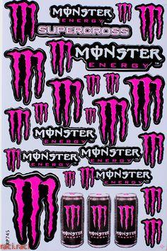 Logo Monster Picture Jpg 1366 215 728 Monster Energy