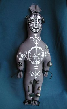 Made To Order Simbi Voodoo Hoodoo Doll by CreepyStuff on Etsy
