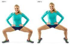 tip-toe squat