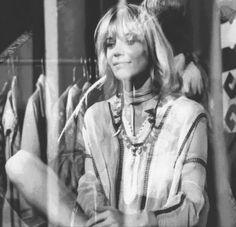 Anita Pallenberg in Donald Cammell's 1970 film, Performance