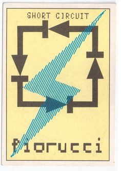 FIORUCCI 80s Panini sticker italy  sticker collection by Mokusaiya