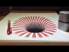 Dessin Illusion : Trou 3D - Trompe-l'oeil - YouTube