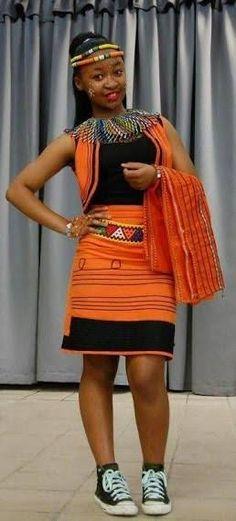 Shweshwe Dresses South Africa Fabrics In 2018 - Pretty 4 African Wedding Dress, African Print Dresses, African Fashion Dresses, African Dress, African Outfits, African Prints, African Clothes, Ankara Fashion, Xhosa Attire