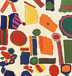 Zandra Rhodes 60's fabric.