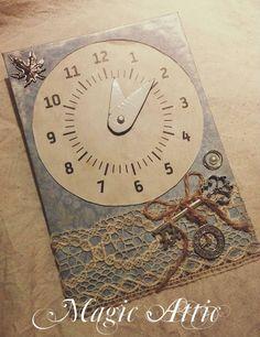 Magic Attic Design parking clock
