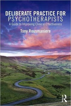"""Deliberate Practice for Psychotherapists. A Guide to Improving Clinical Effectiveness"" by Tony Rousmaniere. This text explores how psychotherapists can use deliberate practice to improve their clinical effectiveness. By sourcing through decades of research on how experts in diverse fields achieve skill mastery, the author proposes it is possible for any therapist to dramatically improve their effectiveness.  https://tavi.koha-ptfs.eu/cgi-bin/koha/opac-detail.pl?biblionumber=40758"