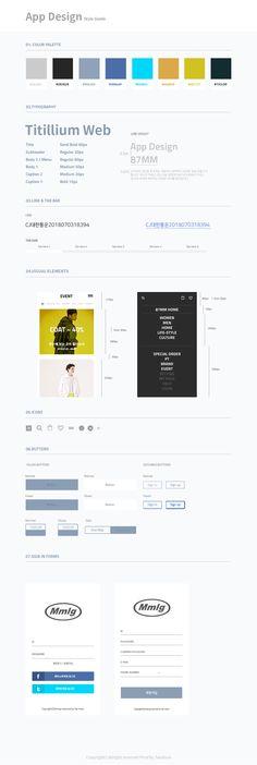 App design on Behance Web Style Guide, Style Guides, App Style, Web Design, Layout, Behance, Icons, Garden, Design Web