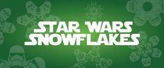 With winter upon us, we thought it would be fun to share a fun project of ours with you: snowflake designs with a Star Wars twist. We created the original set of designs in 2010 and now have the largest collection of designs and templates on the internet. With The Force Awakens opening in Decembe