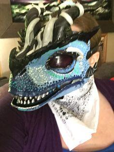 Drawn Mask, Fursuit Tutorial, Dinosaur Mask, Mask Ideas, Skull Mask, Raptors, Lana, My Girl, Captain Hat