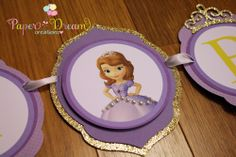 Sofia the First Birthday banner… so cute