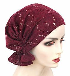 NEW! Abbey Cap 536-Burgundy Speckled Gold - More Details