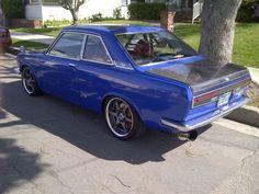 1969 Datsun Bluebird 1600 SSS coupe- modded with an SR20-DET