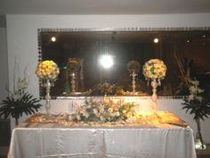 Mesa expositora de bodas.
