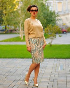 The elegance of a spring morning Colors of Love - Marlene D. Hollywood Divas, Slow Fashion, Winter Collection, Special Occasion, Feminine, Satin, Street Style, Retro, Elegant