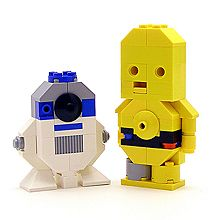 Star Wars characters in Lego