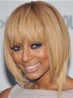 Keri+Hilson+Inexpensive+Smooth+Amazing+Short+Straight+Synthetic+Hair+Wig+about+8+Inches