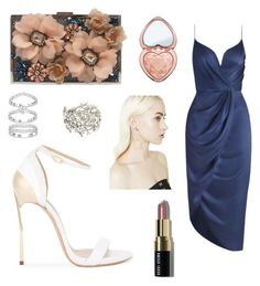 """Gala"" by nina-ann on Polyvore featuring Zimmermann, Sondra Roberts, Casadei, Oscar de la Renta, Bobbi Brown Cosmetics and Too Faced Cosmetics"