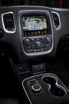 2014 Dodge Durango center console