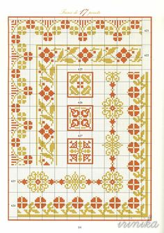 Gallery.ru / Фото #82 - книга - irinikaGallen  Cross stitch pattern two tone…