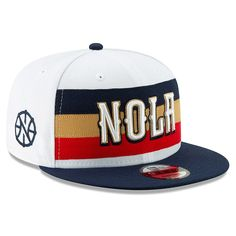 pretty nice 918ea 2dd6b Men s New Orleans Pelicans New Era White Earned Edition 9FIFTY Snapback Hat,  Your Price