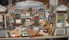 A 19th c stationery shop in the Basel Toy Museum
