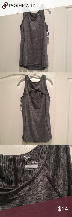 NWT Old Navy Active Top This is new with tags. It's an XXL and also Tall sized. Cute cut out in back. Nice breathable stay dry fabric Old Navy Tops