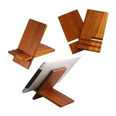 Wood stand for ipad / ipad2 / P1000 (US-WC02) - China ipad stand, U-Shine