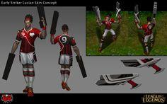 Striker Lucian Skin Concept