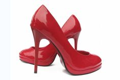 Every Fashion | Chic | Stylish women dreams of wearing sexy red heels!  Christian Louboutin wasn't the first to use red soles as a status symbol, either . . . #Red #Shoes #Christian_Louboutin