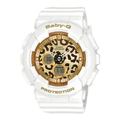 G-Shock Baby-G BA120LP Watch White