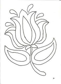 How to create your own fusible applique pattern from a drawing Punch Needle Patterns, Hand Embroidery Patterns, Applique Patterns, Craft Patterns, Beaded Embroidery, Flower Patterns, Embroidery Stitches, Embroidery Designs, Flower Embroidery