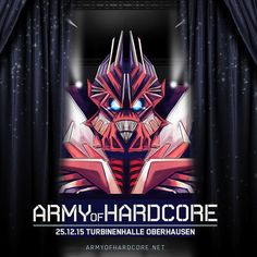 On instagram by alex_events #gabber #gabbermadness () Army of Hardcore - Stage Design Preview ! #feierreisen #hardtours #frenchcore #hardcore #armyofhardcore #200bpm #stage #stagekings #turbinenhalle #oberhausen #xmas #hard #harder #hardest