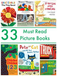 33 Picture Books Every Child Should Read!