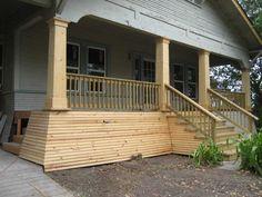 Front Porch Columns Diy Design ~ http://modtopiastudio.com/front-porch-columns-for-more-appealing-home/
