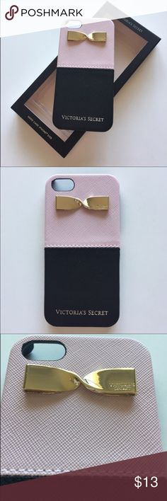 Victoria's Secret iPhone 5/5S hard Colorblock -Brand new in box Victoria's Secret iPhone 5/5S hard Colorblock pink black  • Flexible hard case • Fits iPhone 5/5S only; NOT the 5 Plus  Please see my other listed items!   Items comes from a smoke-free in and pet-free home. Please note, the color may be slightly differ from the color shown in the photo. Brand new and 100% authentic. Please check the pictures and ask questions. Thanks! Victoria's Secret Accessories Phone Cases