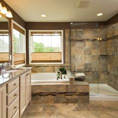 Master Bathroom Layout Ideas Design Ideas, Pictures, Remodel, and Decor - page 2