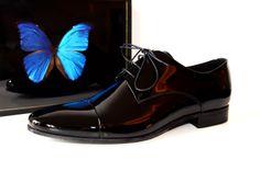 Chaussures Pete Sorensen - Modèle Times on black vernis