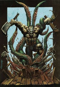 Splatterhouse by Simon Bisley