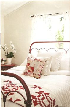 Beautiful Red & White