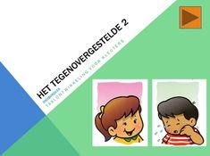 Digibordles voor kleuters, tegenstellingen 2, kleuteridee.nl
