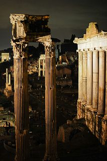 Roman Forum at Night ♠ | Flickr - Photo Sharing!