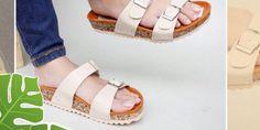 Jual Sandal Wedges Sandal Wedges, Wedge Sandals, Birkenstock, Espadrilles, Shoes, Fashion, Espadrilles Outfit, Moda, Zapatos