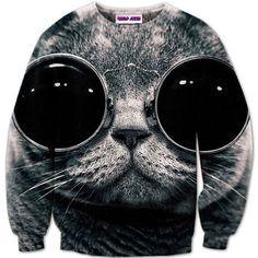 FUNKY CAT SWEATER