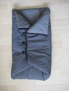 Baby sleeping bag... perfect for traveling & sleepovers at grandma's house! :)