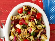 Picnic Potato Salads | Grilling Side and Salad Recipes: Corn, Beans and More : Food Network | Food Network