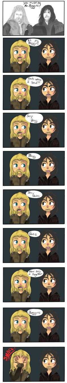 Fili Kili and Mr Boggins by ~Kunehoyo