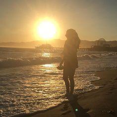 Sunset  #santamonica #pierdesantamonica #califa #lifestye #lifeisgood #praia #sol #mar #olioliteam @casadelmarhotels