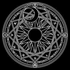 Una insignia o círculo mágico (魔法, Mahoujin) es una figura compuesta por un gran número de símbolos relacionados con las competencias, técnicas y procedencia del mago y su poder mágico. En general, las insignias mágicas son lo que diferencia a los magos entre sí, cada uno crea un círculo mágico que es como su firma. Las insignias mágicas son como un campo de energía que se activa en el momento que un mago está a punto de realizar un hechizo. Este círculo mágico es visible bajo los pies…